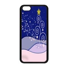 Christmas Tree Apple Iphone 5c Seamless Case (black)