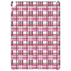 Pink plaid pattern Apple iPad Pro 12.9   Hardshell Case