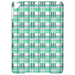 Green plaid pattern Apple iPad Pro 9.7   Hardshell Case