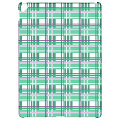 Green plaid pattern Apple iPad Pro 12.9   Hardshell Case