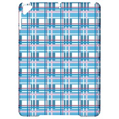 Blue plaid pattern Apple iPad Pro 9.7   Hardshell Case