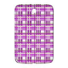 Purple plaid pattern Samsung Galaxy Note 8.0 N5100 Hardshell Case