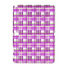 Purple plaid pattern Galaxy Note 1