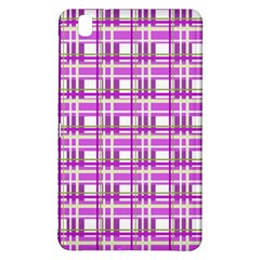 Purple plaid pattern Samsung Galaxy Tab Pro 8.4 Hardshell Case