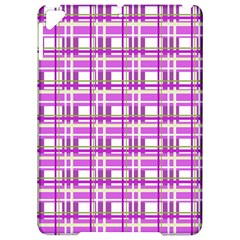 Purple plaid pattern Apple iPad Pro 9.7   Hardshell Case