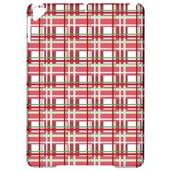 Red plaid pattern Apple iPad Pro 9.7   Hardshell Case