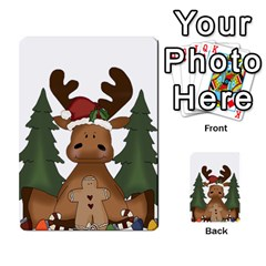 Christmas Moose Multi-purpose Cards (Rectangle)
