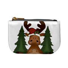 Christmas Moose Mini Coin Purses
