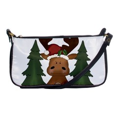 Christmas Moose Shoulder Clutch Bags