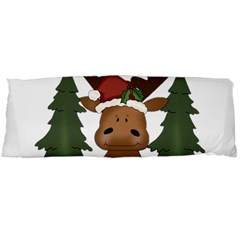 Christmas Moose Body Pillow Case Dakimakura (two Sides)