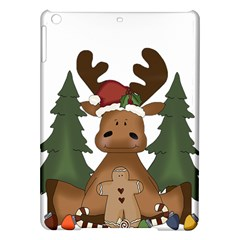 Christmas Moose Ipad Air Hardshell Cases