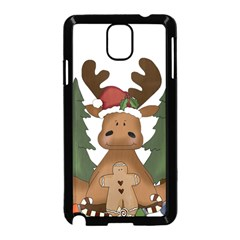 Christmas Moose Samsung Galaxy Note 3 Neo Hardshell Case (black)