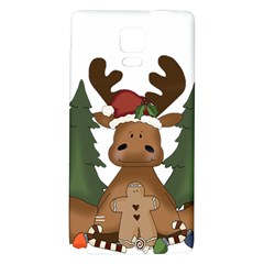 Christmas Moose Galaxy Note 4 Back Case