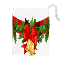 Christmas Clip Art Banners Clipart Best Drawstring Pouches (extra Large)