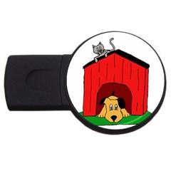 Dog Toy Clip Art Clipart Panda Usb Flash Drive Round (4 Gb)