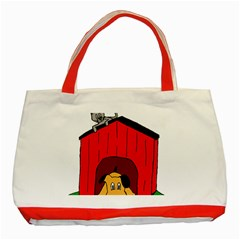 Dog Toy Clip Art Clipart Panda Classic Tote Bag (red)