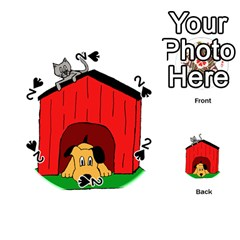 Dog Toy Clip Art Clipart Panda Playing Cards 54 (round)