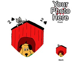 Dog Toy Clip Art Clipart Panda Playing Cards 54 (heart)
