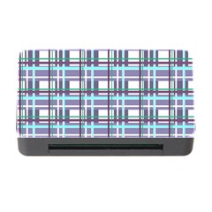 Decorative Plaid Pattern Memory Card Reader With Cf