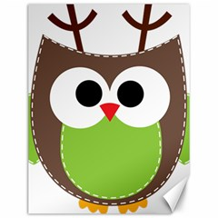 Clip Art Animals Owl Canvas 12  X 16