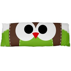 Clip Art Animals Owl Body Pillow Case Dakimakura (two Sides)