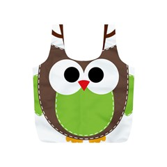Clip Art Animals Owl Full Print Recycle Bags (s)