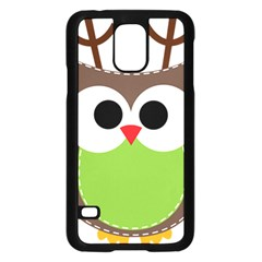 Clip Art Animals Owl Samsung Galaxy S5 Case (black)