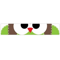 Clip Art Animals Owl Flano Scarf (large)