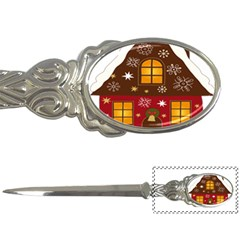 Christmas House Clipart Letter Openers