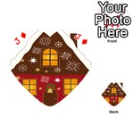 Christmas House Clipart Playing Cards 54 (Heart)  Front - DiamondJ