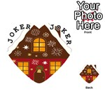 Christmas House Clipart Playing Cards 54 (Heart)  Front - Joker1