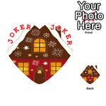 Christmas House Clipart Playing Cards 54 (Heart)  Front - Joker2