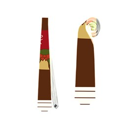 Christmas House Clipart Neckties (two Side)