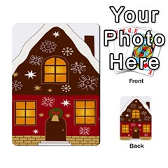 Christmas House Clipart Multi Purpose Cards (rectangle)