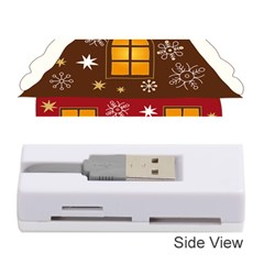 Christmas House Clipart Memory Card Reader (stick)