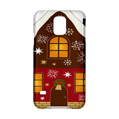 Christmas House Clipart Samsung Galaxy S5 Hardshell Case