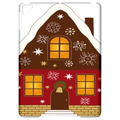 Christmas House Clipart Apple Ipad Pro 9 7   Hardshell Case