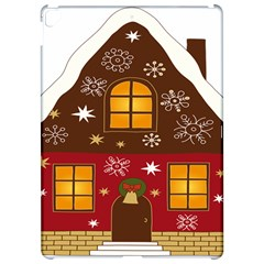 Christmas House Clipart Apple iPad Pro 12.9   Hardshell Case