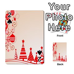 Christmas Clipart Wallpaper Playing Cards 54 Designs