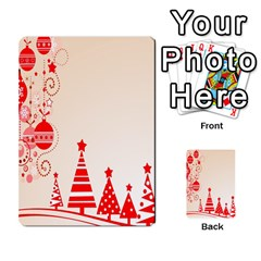 Christmas Clipart Wallpaper Multi Purpose Cards (rectangle)
