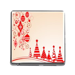 Christmas Clipart Wallpaper Memory Card Reader (square)