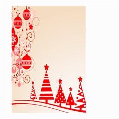 Christmas Clipart Wallpaper Small Garden Flag (two Sides)