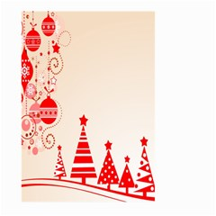 Christmas Clipart Wallpaper Large Garden Flag (two Sides)