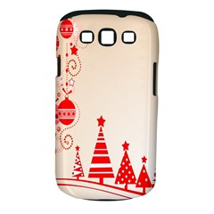 Christmas Clipart Wallpaper Samsung Galaxy S Iii Classic Hardshell Case (pc+silicone)