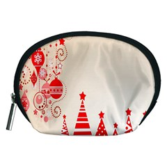 Christmas Clipart Wallpaper Accessory Pouches (medium)