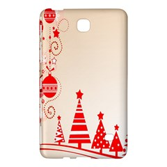 Christmas Clipart Wallpaper Samsung Galaxy Tab 4 (8 ) Hardshell Case