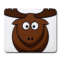 Elk Clip Art Reindeer Raindeer Elk Christmas Xmas Large Mousepads