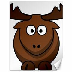 Elk Clip Art Reindeer Raindeer Elk Christmas Xmas Canvas 36  X 48