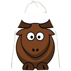 Elk Clip Art Reindeer Raindeer Elk Christmas Xmas Full Print Aprons