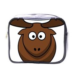Elk Clip Art Reindeer Raindeer Elk Christmas Xmas Mini Toiletries Bags